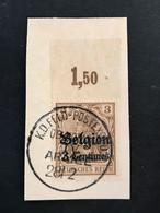 OC1-4 Met Velrand En Cijfer - Gestempeld K.D. FELDPOSTEXPED. OB. KOMM. ARMEE 28/2 - [OC1/25] General Gov.