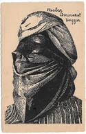 Nesbar Amenokal Hoggar (carte Vierge) - Mannen
