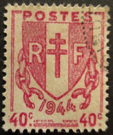 FRANCE N°672 Oblitéré - Gebraucht