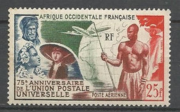 AOF PA  N° 15 NEUF * TRACE DE CHARNIERE / MH - Unused Stamps