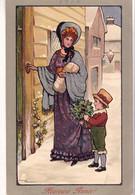 ETHEL PARKINSON MM Vienne Nr 234 Femme Et L'enfant Au Bouquet - Parkinson, Ethel