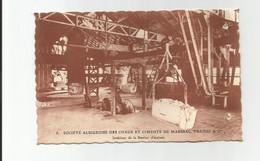 8- Société Albigeoise Des Chaux Et Ciments De Marssac. Fraisse & Cie - Intérieur De La Station D'Arrivée - Non Classés