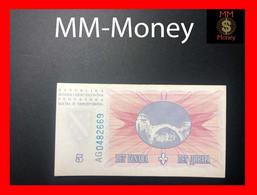 BOSNIA 5 Dinara  15.8.1994  P. 40  XF \ AU - Bosnie-Herzegovine