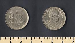 Argentina 5 Pesos 1977 - Argentina