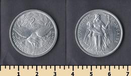 New Caledonia 2 Francs 1971 - New Caledonia