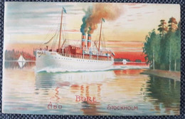 Finland Åbo 1912 Ship - Finland
