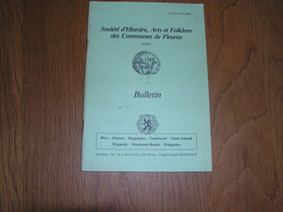 SOCIETE D'HISTOIRE DES COMMUNES DE FLEURUS N° 25 Régionalisme Hainaut Hospice Oeuvres De Bienfaisance Hopital - Bélgica