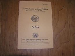 SOCIETE D'HISTOIRE DES COMMUNES DE FLEURUS N° 26 Régionalisme Hainaut Ferme Du Colombier à Wagnelée Fermier Agriculture - Bélgica