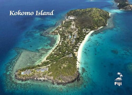 Fiji Kokomo Island Aerial View New Postcard Fidschi AK - Fiji