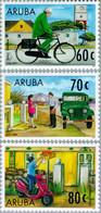 Aruba 1997 JubileumUPAEP Postdienst. Fiets, Bicycle, Jeep Mailbox, Scooter NVPH 190, MNH** Postfris - Curaçao, Nederlandse Antillen, Aruba