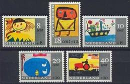 Nederland 1965 NVPH Nr 849/853 Postfris/MNH Kinderpostzegels, Children's Stamps - Ungebraucht
