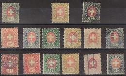 SVIZZERA 1881 - Francobolli Per Telegrafo (7) - Unclassified