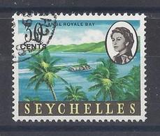 "SEYCHELLES......QUEEN ELIZABETH II..(1952-NOW..).""..1962..""....30c.......SG200a..........VFU... - Seychelles (...-1976)"