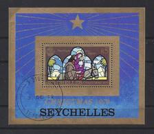 "SEYCHELLES......QUEEN ELIZABETH II..(1952-NOW..).""..1979..""..CHRISTMAS .....MINI SHEET......VFU.. - Christmas"