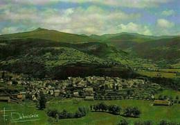 France Cantal Le Puy Violent Village General View Postcard - Autres