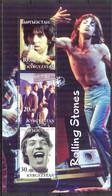 {F0036} LABEL Music Bands Rolling Stones Sheet MNH Cinderella ! - Etichette Di Fantasia