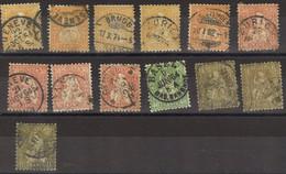 SVIZZERA 1862 - Lotto Di Francobolli Usati (13) - Unclassified