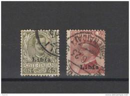 LIBIA 1917-18 SOP.TI LIBIA USATI - Libye