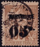 "✔️ Martinique 1888/1891 - Dubois Avec Surcharge  Erreur ""C"" Fermé Complet - Yv. 12 (o) - €30++ - Used Stamps"
