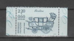 FRANCE / 1987 / Y&T N° 2469 ** : Journée Du Timbre (Berline) De Carnet X 1 (avec 2 BdC) - Neufs