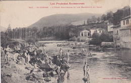 Saint-Girons (Ariège)1907-la Baignade Au Salat. - Saint Girons