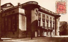 Poland - WARSZAWA - Teatr Polski - Publ. K. Wojutynski - Pologne
