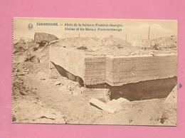 C.P. Zeebrugge =  Oorlog  1914-1918 :   Abri  De La Batterie FREDERIC-GEORGES - Brugge