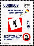 Bolivia 2015 CEFIBOL 2267 ** Ley 263 Contra La Trata Y Trafico De Personas. UPAEP. See Desc. - Bolivia