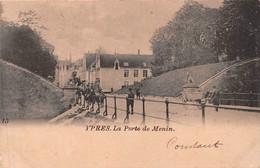 Ypres - La Porte De Menin - Ieper