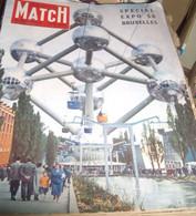 Paris - Match , Bruxelles ,  EXPO 58 - General Issues