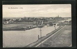 AK Gross-Berkenthin I. Lbg., Blick über Die Brücke Zum Ort - Ohne Zuordnung