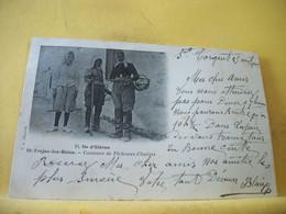 17 5014 CPA 1903 - 17 ILE D'OLERON. ST TROJAN LES BAINS. COSTUMES DE PECHEUSES D'HUITRES - ANIMATION - Ile D'Oléron