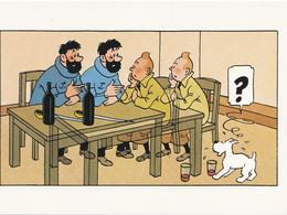 TINTIN  HERGE LES EFFETS DE L'ALCOOL - Comics
