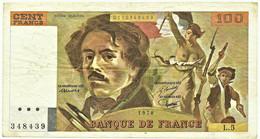FRANCE - 100 Francs - 1978 - P 154.a - Serie L.5 - EUGÈNE DELACROIX - 100 F 1978-1995 ''Delacroix''