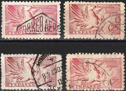 Spain 1941 - Mi 894 - YT E30  ( Express Post : Pegasus ) Four Shades Of Color - Correo Urgente