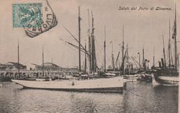 Italie  Saluti Dal Porto Di Livorno - Other