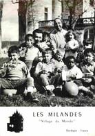 24 LES MILANDES Village Du Monde - Joséphine Baker Jo Bouillon CPSM GF Ed. C.A.P - Autres Communes