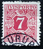 Denmark 1907  AVISPORTO MiNr. 3X  ( Lot B 1374 ) - Port Dû (Taxe)