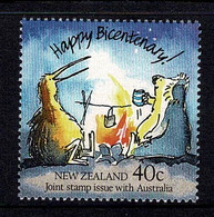 New Zealand 1988 Bicentenary - Joint Issue With Australia MNH - Nuevos