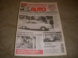 LVA VIE De L'AUTO 778 01.1997 AUTOSCOPIE SAAB 92-96 Georges IRAT LICORNE V-15 T - Auto/Moto