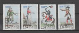 """FRANCE / 1989 / Y&T N° 2592/2595 ** : """"Bicentenaire De La Révolution"""" (Série Complète 4 TP) X 1 - Neufs"""