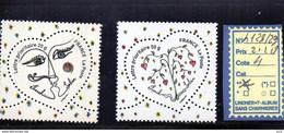 FRANCE - N°4128/29 - LUXE** - Unused Stamps