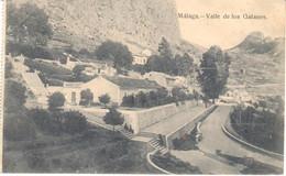 POSTAL   MALAGA  -ANDALUCIA  -VALLE DE LOS GALANES - Málaga