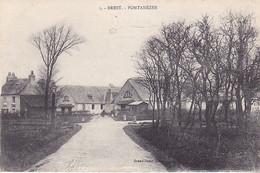 VIL- BREST  CASERNE PONTANEZEN    CPA  CIRCULEE - Brest