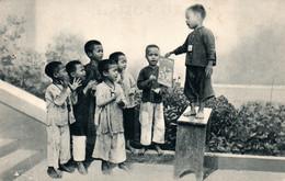 Propagande Pour La Revue Missions En Indochine - Enfants Vietnamiens - Carte N° 4 Non Circulée - Missions