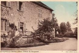 Buxieres  Les  Mines - Allier - Château  De  Saragousse. - Andere Gemeenten