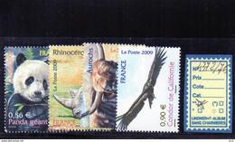 FRANCE LUXE** N° 4372/75 - Unused Stamps