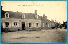 CPA 45 MENESTREAU-en-VILLETTE Loiret - Route De La Ferté ° Landré-Imbault éditeur - Sonstige Gemeinden