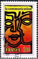 France Poste Obl Yv:1884 Mi:1968 La Communication (TB Cachet Rond) - Gebraucht