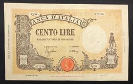 100 Lire Grande B ( B.I.) 23 08 1943 Bb+ Forellino Nell'ovale   LOTTO 1445 - 100 Lire